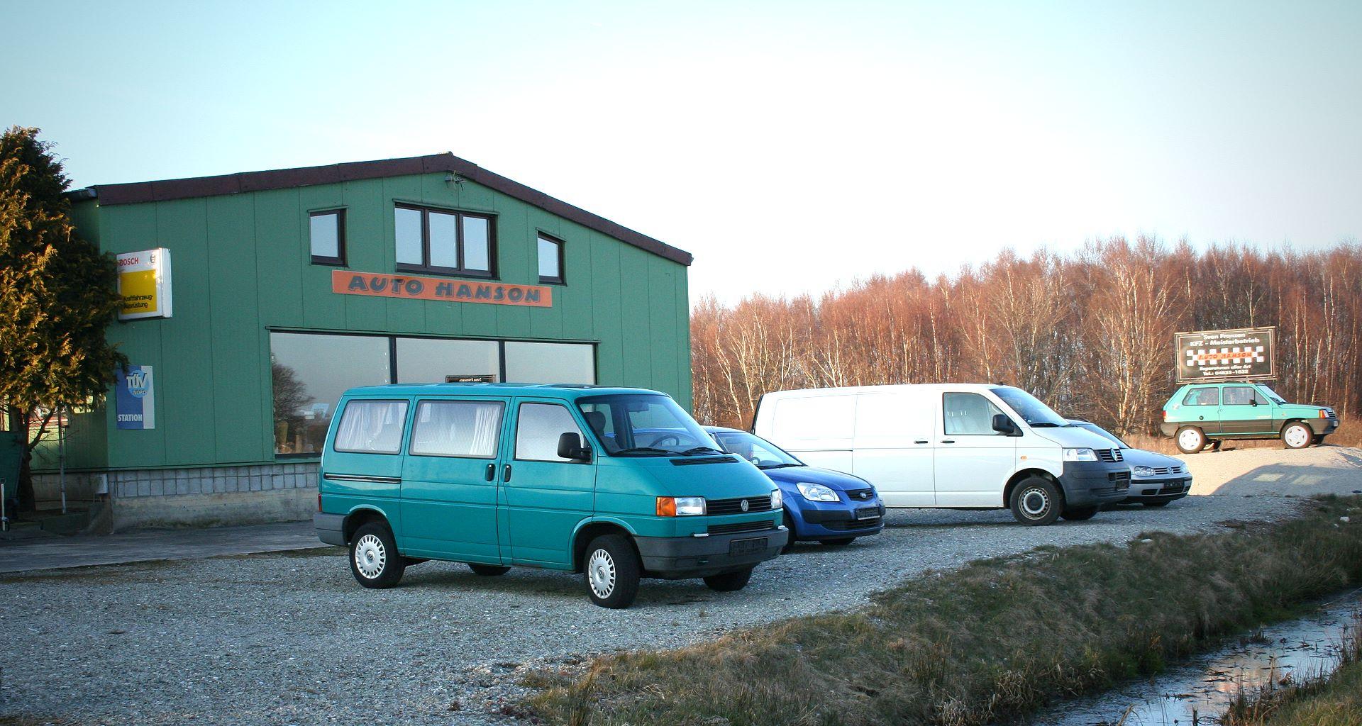 Auto hanson impressum for Hanson motors service department